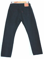 LEVI STRAUSS & CO BLACK 501 XX JEANS  W 30 L 32