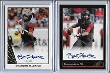 """2016 Leaf Ultimate Brandon Allen """"1992"""" Silver Foil Auto RC Broncos QB SP /25!"""