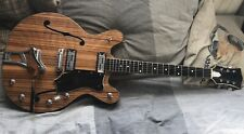 Rossmeisl Vintage Electric Guitar Handmade In Austria Van Ghent Schaller Archtop