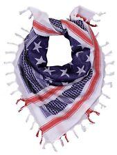 US Flag Shemagh Tactical Desert Scarf Rothco 88550