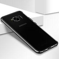Samsung Galaxy S6 Edge Funda Estuche Móvil Protector Negro