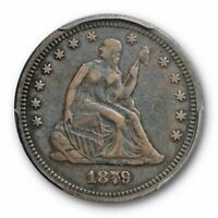 1879 25C Liberty Seated Quarter PCGS VF 25 Very Fine to XF Cert8354