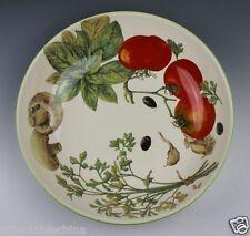 """William Sonoma Pasta 12 7/8"""" Bowl - Italian Pottery Mediterranean Design"""