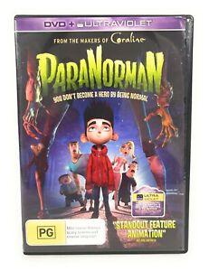 ParaNorman (DVD, 2012) Kodi Smit‑McPhee Region 4 Free Postage