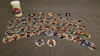 Vintage One of a Kind - Foil Baby Street Fighter 52 Playing Card Milk Cap Set