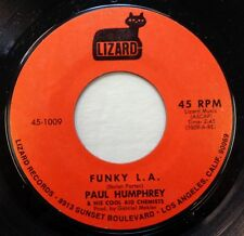 Paul Humphrey & Cool Aid Chemists 45 Funky L.A. / Baby Rice LIZARD funk  bb1639