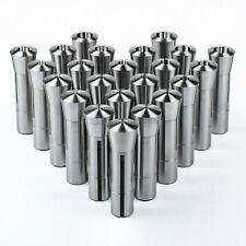 23 Piece R8 Collet Set Fractional 116 To 34 High Precision For Bridgeport