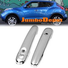 For 2011 2012 2013 2014 15 16 17 Nissan Juke Chrome Side Door Handle Cover Trim