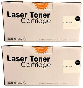 Compatible S050319 Black Twin Toner Cartridges C13S050319