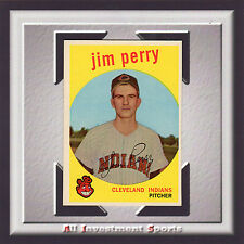 1959 Topps JIM PERRY #542 NM-MT *amazing baseball card for your set* SD1g
