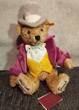 Steiff Willy Wonka Teddy Bear Fenwicks Ltd Edition New With Embroidered Foot