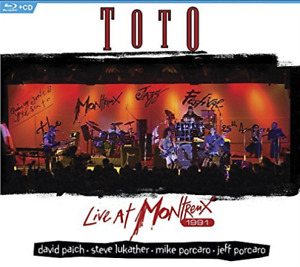 TOTO-LIVE AT MONTREUX 1991 (2PC) (W/CD) (US IMPORT) Blu-Ray NEW