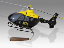 Airbus Eurocopter H135 EC135 Suffolk Police Handcrafted Solid Wood Display Model