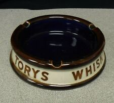 Vintage Torys Whisky Ashtray