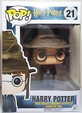 Funko Pop Harry Potter with Sorting Hat # 21 Vinyl Figure Brand New