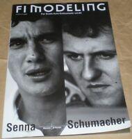 F1 MODELING vol.65 Memory of Heroes Ayrton Senna Michael Schumacher