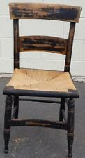 Antique Slat Back Side Chair - NEEDS TLC - GREAT VERY OLD SIDE CHAIR - RESTORE