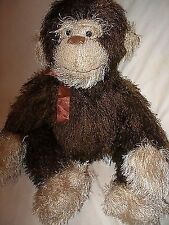 Tri Russ Intl plush stuffed brown monkey
