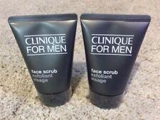 Clinique for Men Face Scrub Exfoliant Visage, 100ml Full size - Brand New x 2