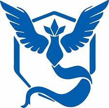 Pokemon Go Team Mystic in blue Vinyl Decal Sticker Truck Window Car Laptop/ipad
