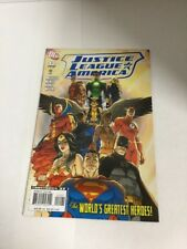 Justice League Of America 12 Variant Nm Near Mint DC Comics