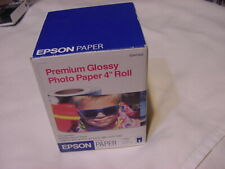 "EPSON PREMIUM GLOSSY PHOTO PAPER 4"" ROLL S041302"