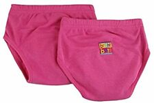 Bright Bots Lot de 2 culottes d'apprentissage du pot pour bebe (rose, taille...