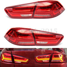 New LED Tail Lights For Mitsubishi Lancer/Evo X LED Rear Brake Lamps 2008-2017