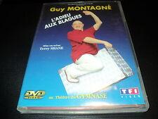 """DVD """"GUY MONTAGNE - L'ADIEU AUX BLAGUES"""" spectacle au Theatre du Gymnase 2001"""