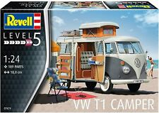 VW T1 Camper 1:24 Scale Level 5 Revell Model Kit