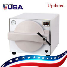 18L Dental Autoclave Steam Sterilizer Medical Sterilization Lab Safety Equipment