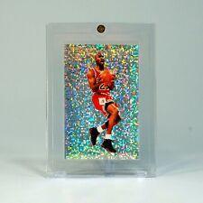 1992-93 Panini Sticker #102 Michael Jordan Bulls FOIL PRISM