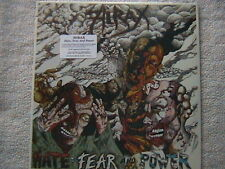 """HIRAX """"HATE, FEAR AND POWER"""" LP FACTORY SEALED 1986 THRASH SPEED METAL"""