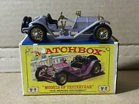 1960s Matchbox Lesney Models of Yesteryear Y-7 Original Box NM 1913 Mercer