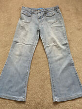 SOUTH Light blue bootcut jeans - Size 16