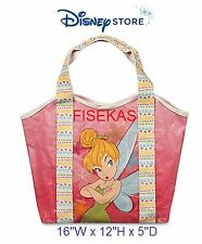 Disney Store Tinker Bell Swim Bag Pool Tote Purse Tink Fairy Tinkerbell 2016 NEW