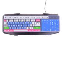 Bunte Universal-Silikon-Desktop-Computer Tastatur Abdeckung Schutzfolie ZP W0 MV