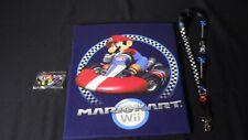 Nintendo Wii, Mario Kart Shirt Size XL Promo Keychain And WII U Lanyard Rare!!