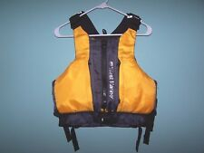 WEST MARINE MEDALIST Canoeing, Kayaking, Sailing Vest Size Youth 50-90lbs (NWOT)