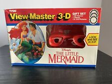 1990 Tyco View Master 3-D Gift Set Disney The Little Mermaid- BRAND NEW!