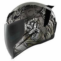 *FREE SHIPPING* Icon Airflite Krom Full Face DOT Motorcycle Helmet