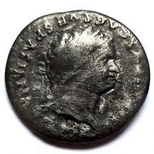 TITUS - DENARIUS - RARE ROMAN COIN