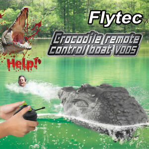 Flytec 2.4GHz RC Boot Krokodilkopf Elektro Ferngesteuertes Spielzeug Schiff Boat