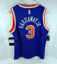 Juventud Nueva York Knicks Tim Hardaway Jr #3 Azul Icono Camiseta Swingman XL Nike