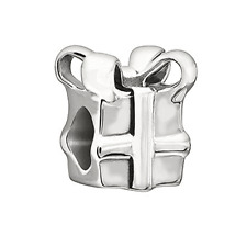 Chamilia Gift Box Bead In 925 Sterling Silver,GA-113