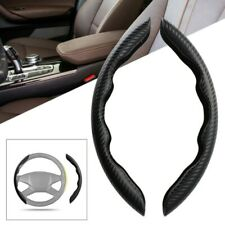 Carbon Fiber Look Universal Car Steering Wheel Booster Cover Non-Slip Accessory