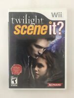 Scene It Twilight - Nintendo Wii Game - Complete & Tested