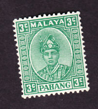 Malaysia Pahang GVI 1941 3c (needed for crown album) fine sg31a?