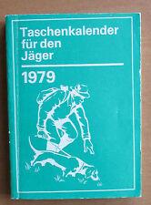 DDR Taschenkalender Jäger 1979 Wildschäden Jagdhunde Fuchsfang Abbalgestation