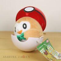Pokemon Center Original Petit Plush in Poke Ball Case vol.3 Rowlet doll